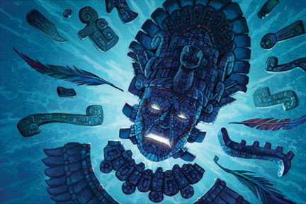 Dioses Aztecas O Extraterrestres Luz Arcoiris