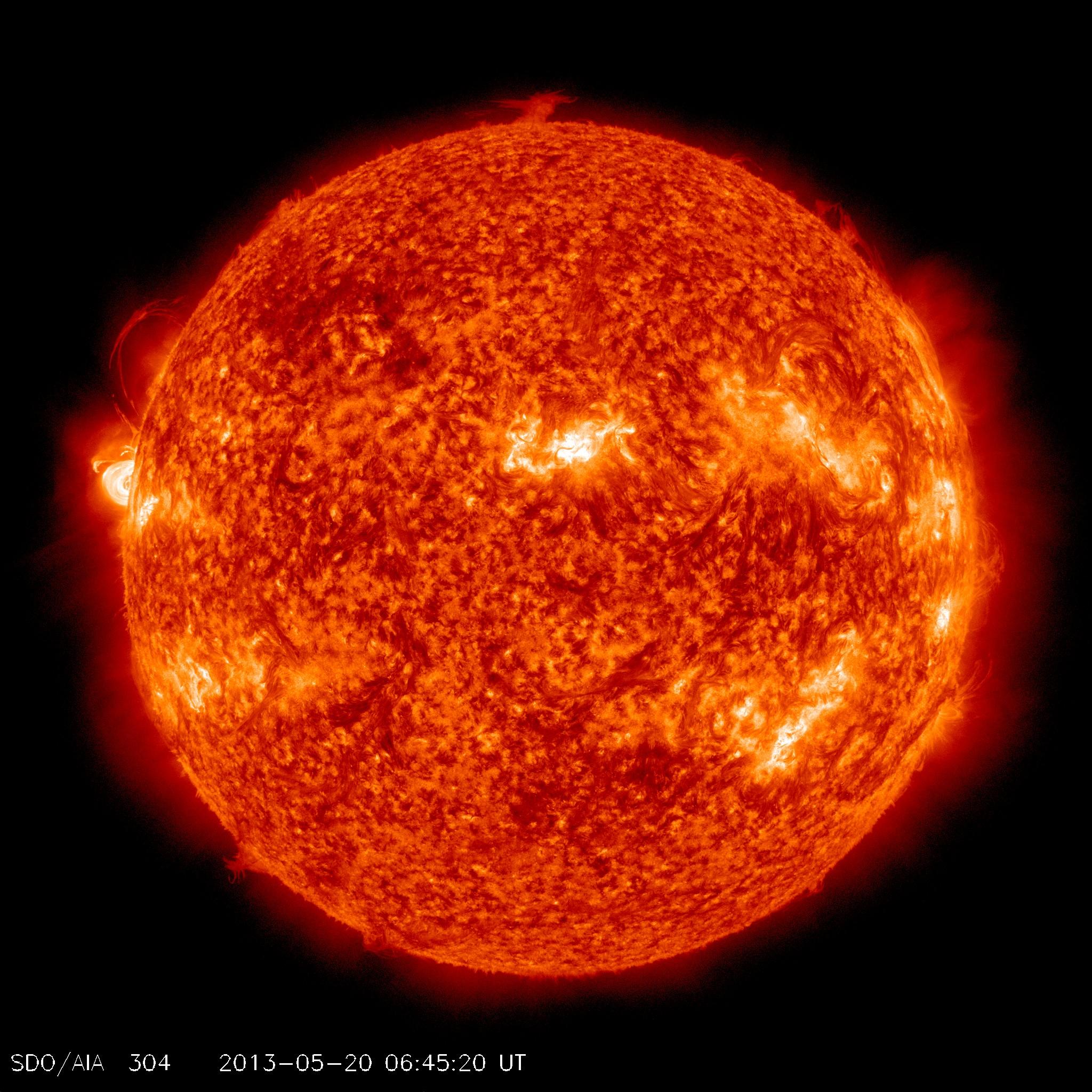 Se crea una nueva mancha solar luz arcoiris