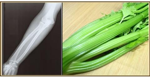 el apio muy bueno para los huesos