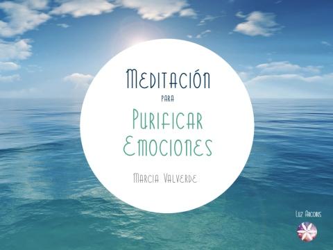 Meditación Purificar Emociones